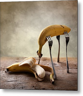 Banana Metal Prints