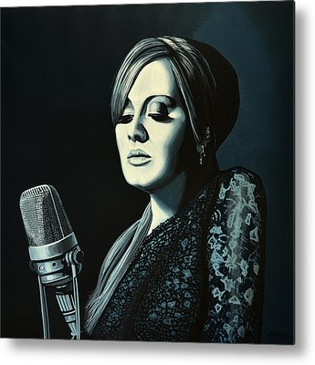Adele Metal Prints