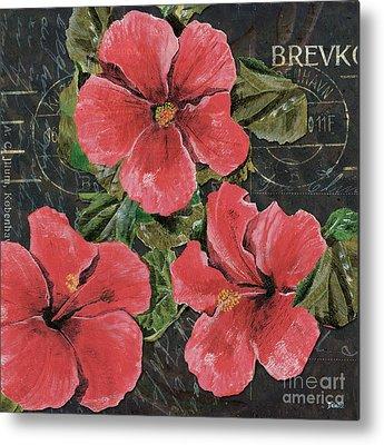 Hibiscus Flower Metal Prints