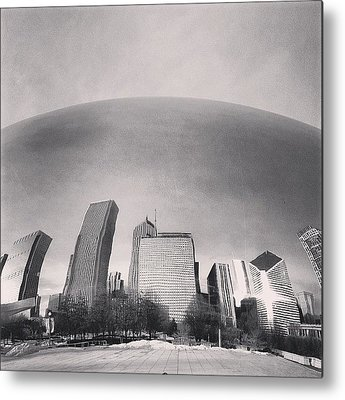 Skylines Metal Prints