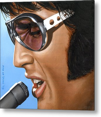 Elvis Presley Metal Prints