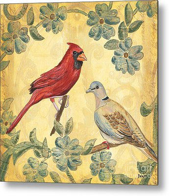 Yellow Bird Metal Prints