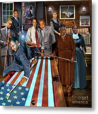 Republican Paintings Metal Prints