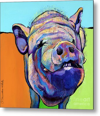 Farm Animals Metal Prints