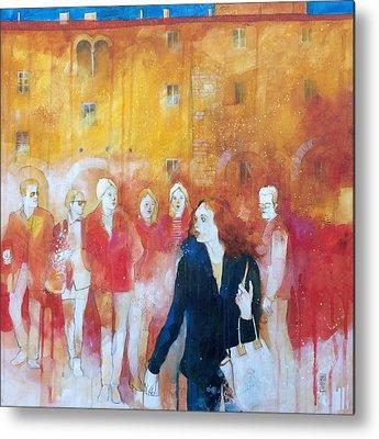 Sienna Italy Paintings Metal Prints