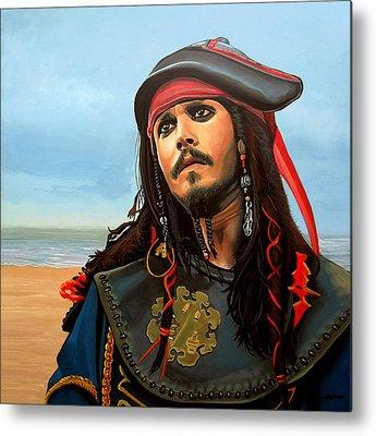 Johnny Depp Metal Prints
