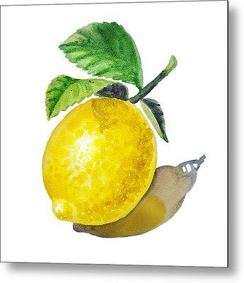 Lemon Metal Prints