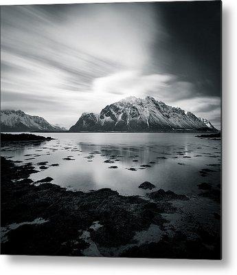 Norwegian Seascape Metal Prints
