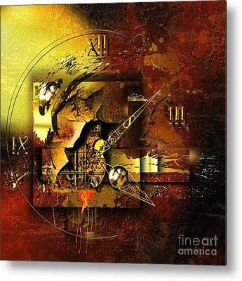 Technical Mixed Media Metal Prints