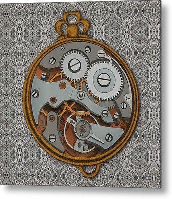 Clock Metal Prints