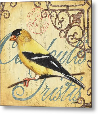 Goldfinch Metal Prints