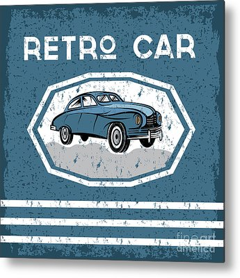 Oldtimer Metal Prints