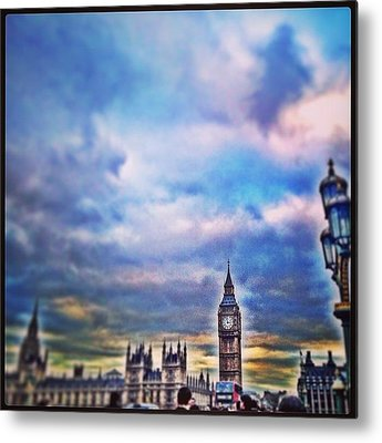London Skyline Metal Prints