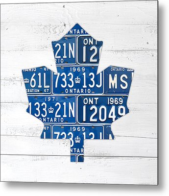 a271e1d004b Toronto Maple Leafs Metal Prints