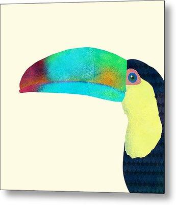 Toucan Metal Prints