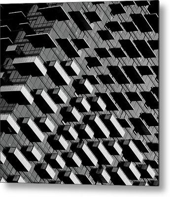 Balconies Metal Prints