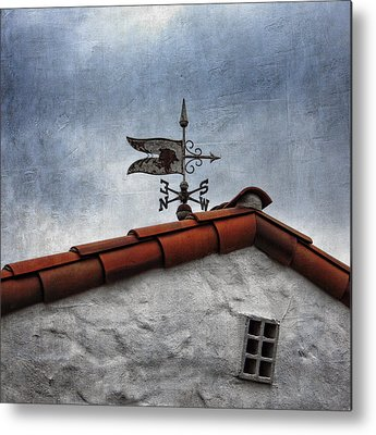 Weathervane Photographs Metal Prints