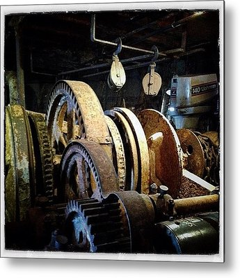 Machine Metal Prints