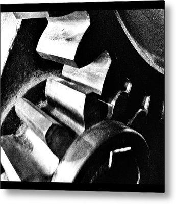 Gears Metal Prints