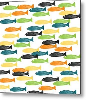 Tropical Fish Metal Prints