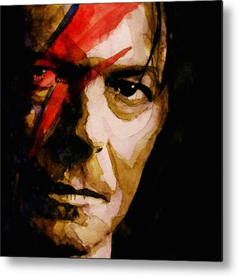 David Bowie Metal Prints