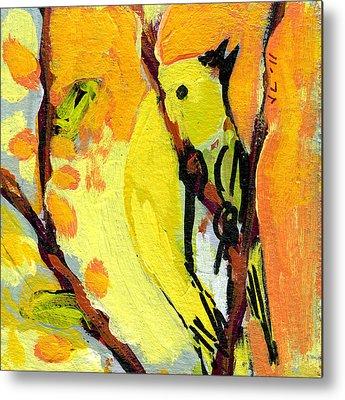 Sparrow Metal Prints