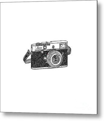 Vintage Camera Metal Prints