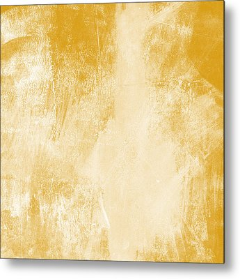 Gold Abstract Metal Prints
