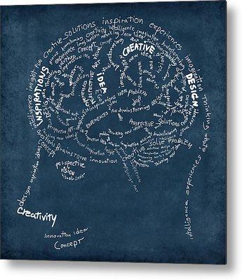 Neurons Metal Prints