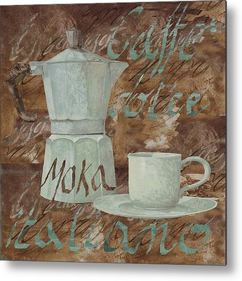 Cafe Metal Prints