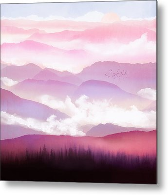 Lavender Mist Metal Prints