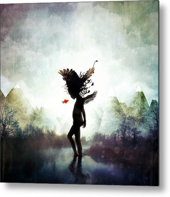 Innocent Angels Metal Prints