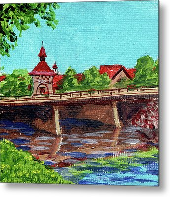 Michigan Frankenmuth Metal Prints