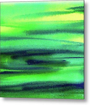 Green Metal Prints