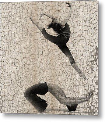 Ballet Dancers Digital Art Metal Prints