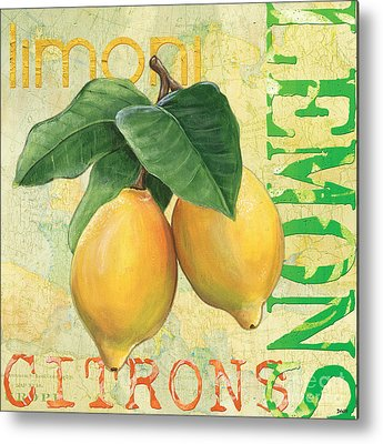 Lemon Metal Prints