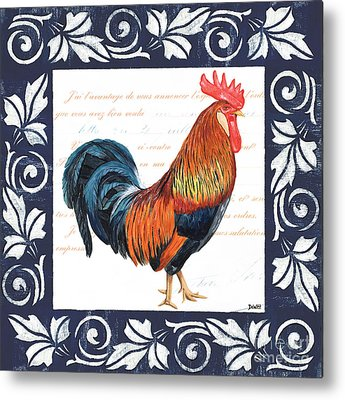 Rooster Metal Prints