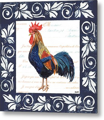 Chicken Metal Prints
