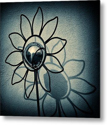 Sunflower Metal Prints