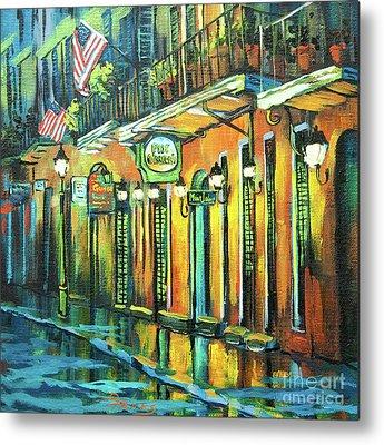 New Orleans Oil Paintings Metal Prints