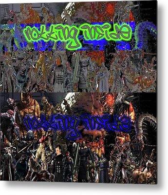 Cyberpunk Metal Prints