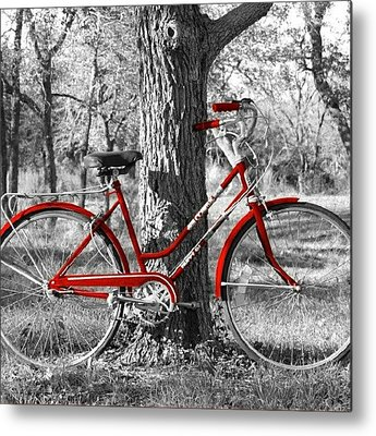Bicycles Metal Prints