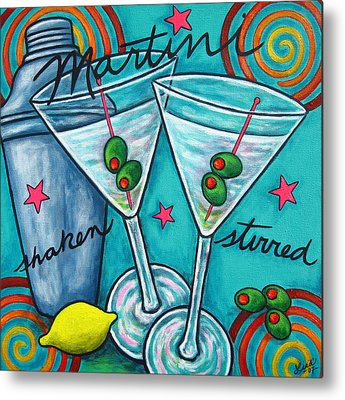 Martini Metal Prints