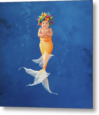Mermaid Metal Prints