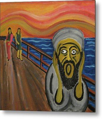 Extremism Paintings Metal Prints