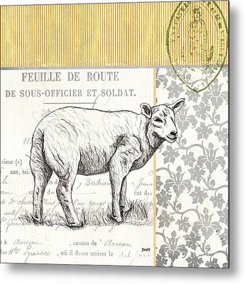 Sheep Metal Prints