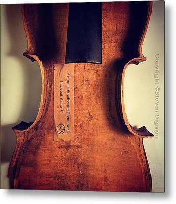 Violin Metal Prints