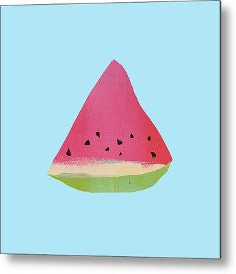 Watermelon Metal Prints