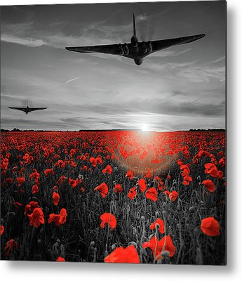 Avro Vulcan Metal Prints