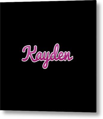 Kayden Metal Prints